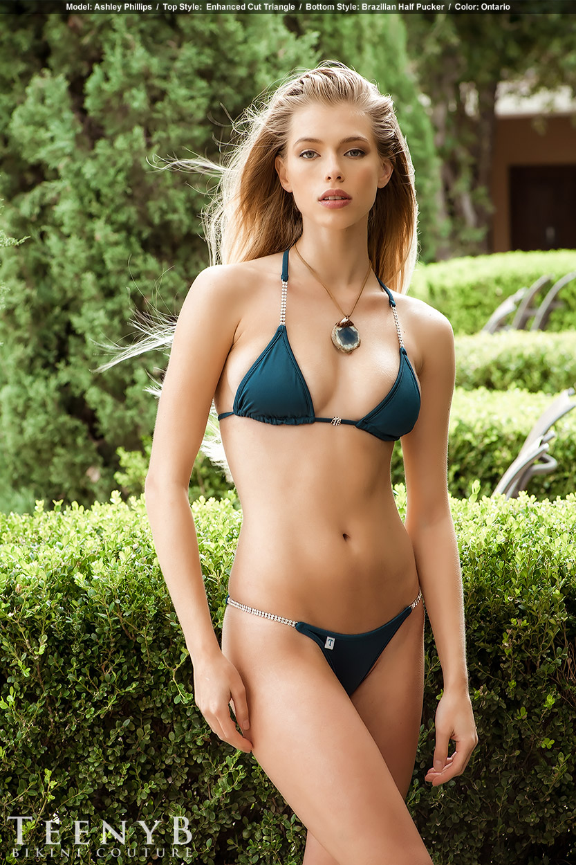 Dark Blue Bikini 49