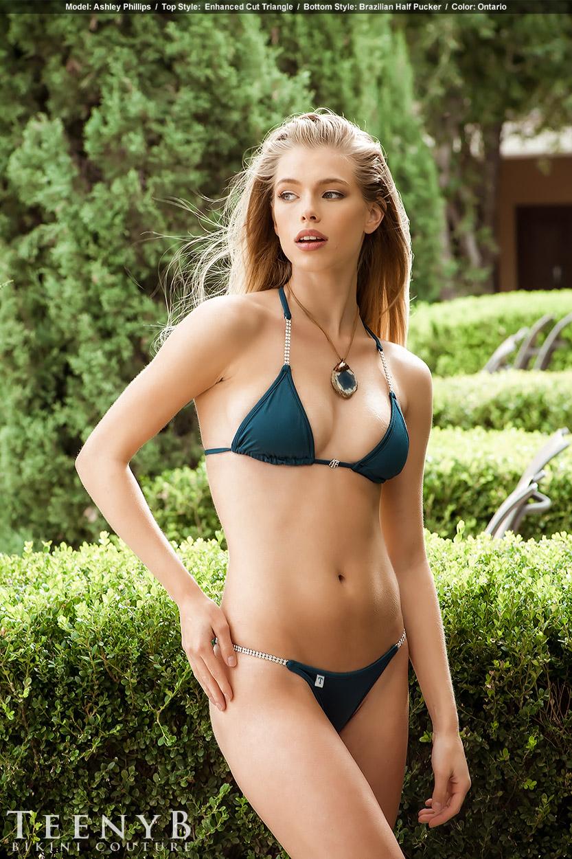 Dark Blue Bikini 47