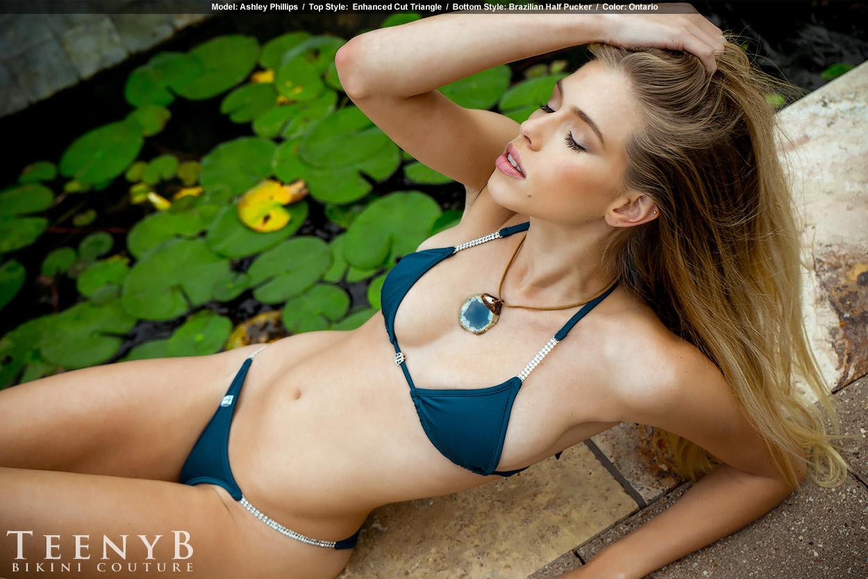 Dark Blue Bikini 2