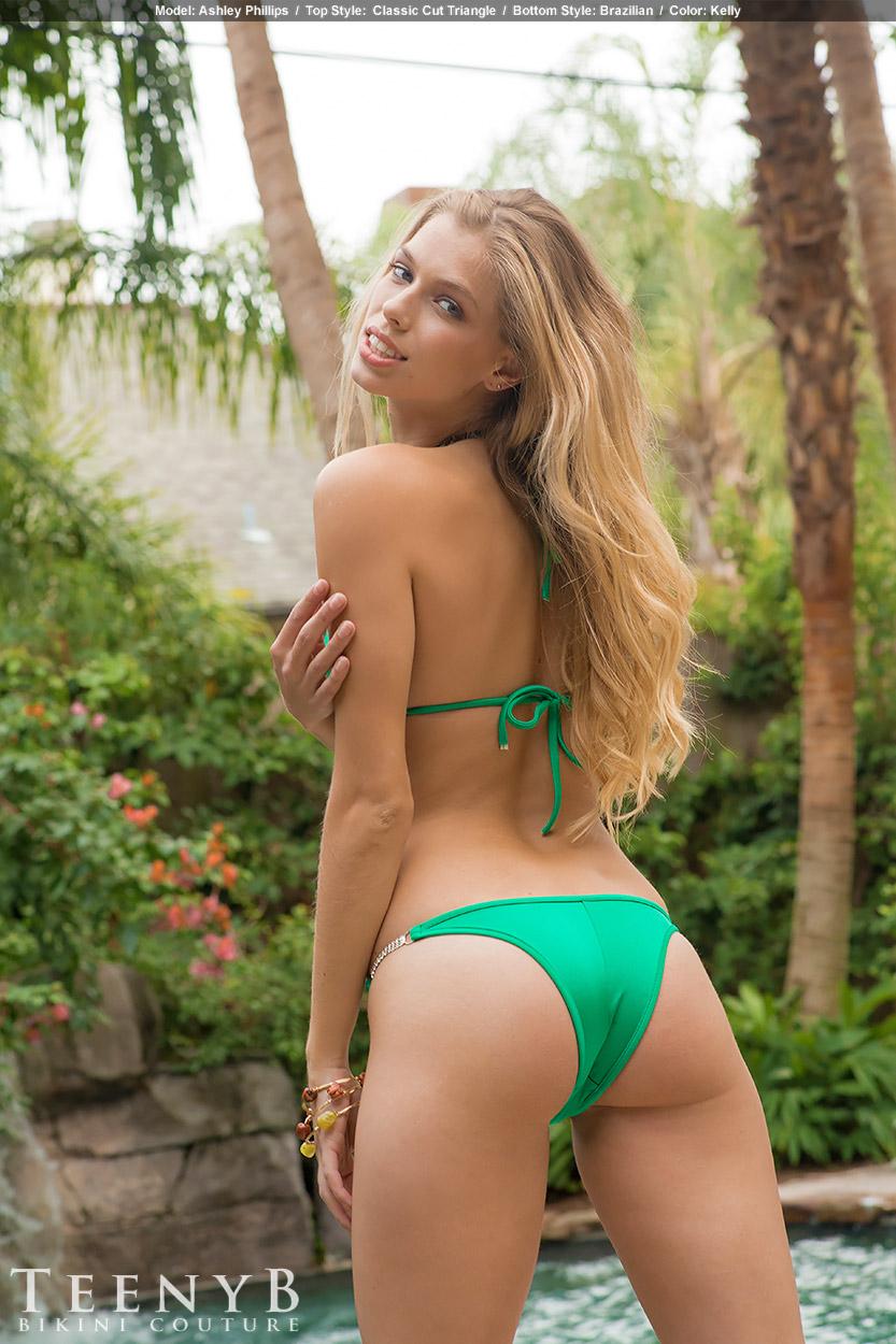 Kelly Green And Bikini