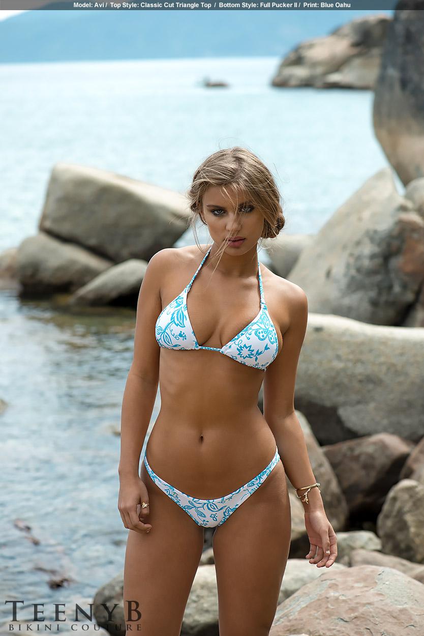 Hawaiian Print Bikini 47