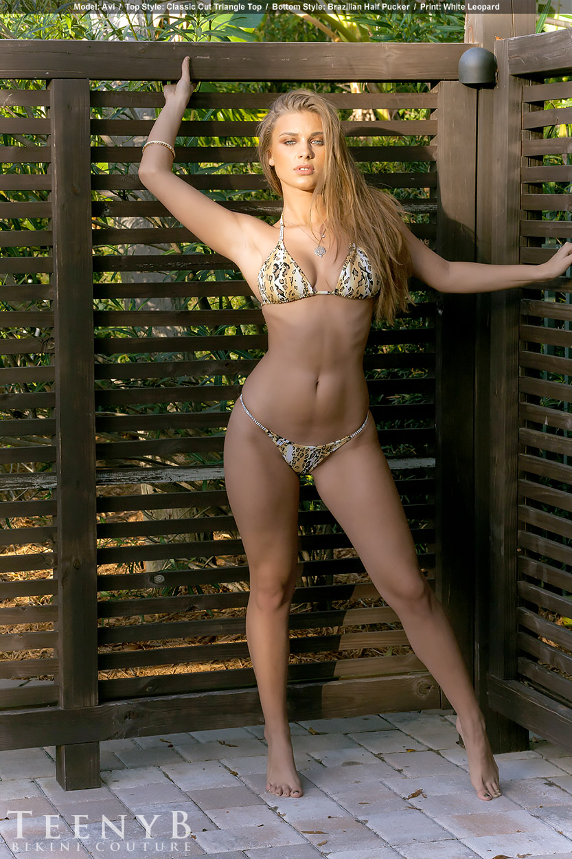 Lepard Print Bikini 104