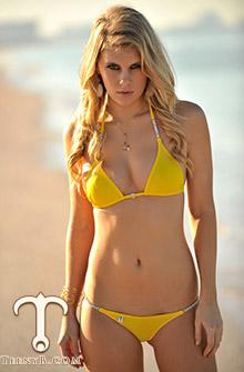 Chrissy Blair's bikini photos