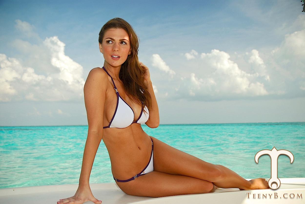 Download this White Brazilian Bikini picture
