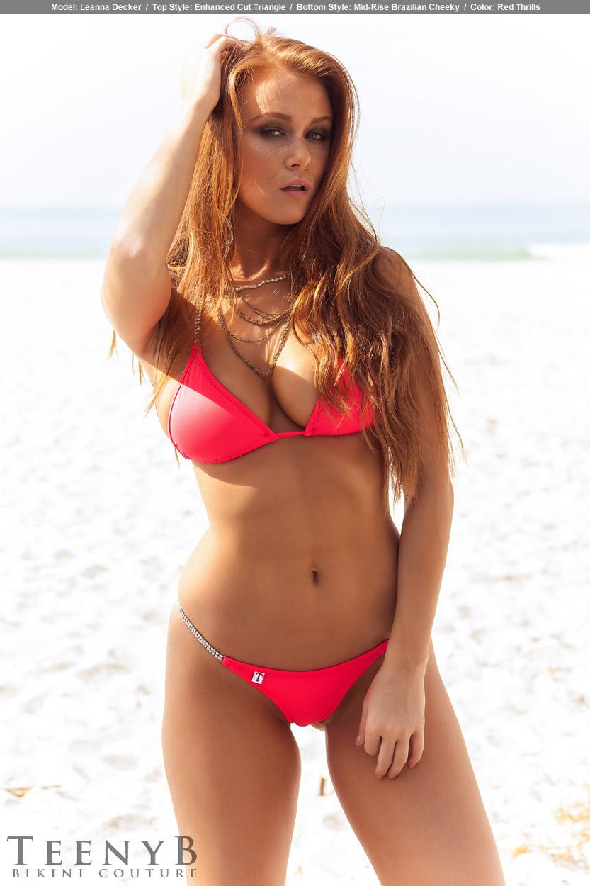 Red Cheeky Bikini
