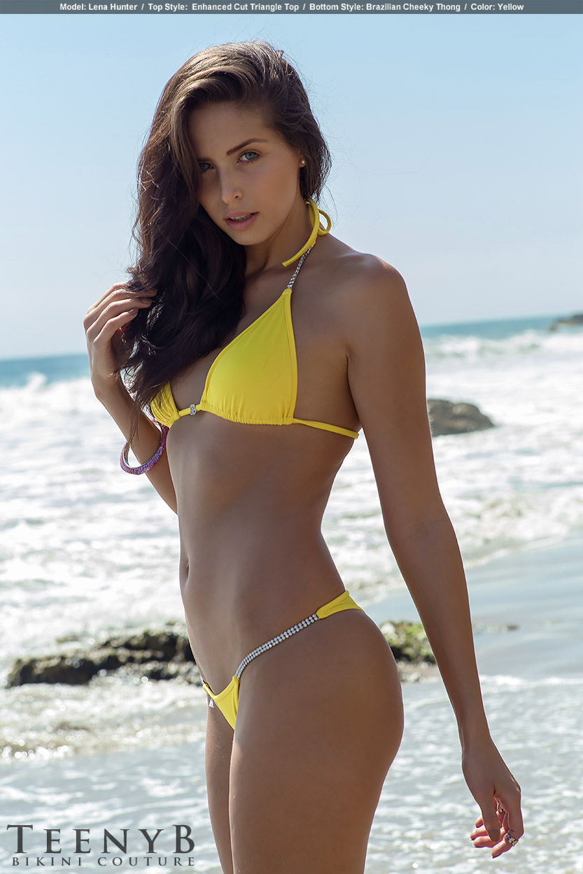 Bright Yellow Bikini 26